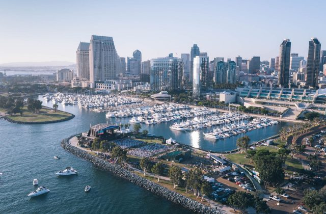 Bayside Nights Concert Amphitheatre and San Diego Skyline - Top Things to Do