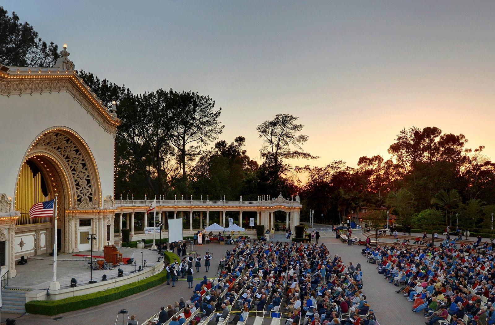 Balboa Park Spreckels Organ Pavilion