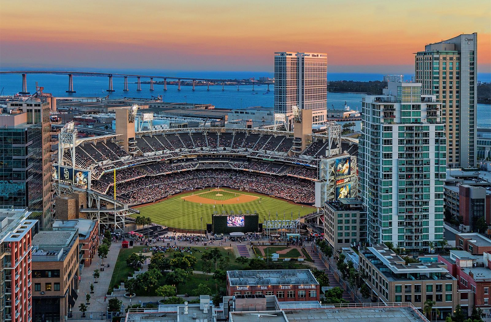 Petco Park and the Coronado Bay Bridge - Top Things to Do in San Diego