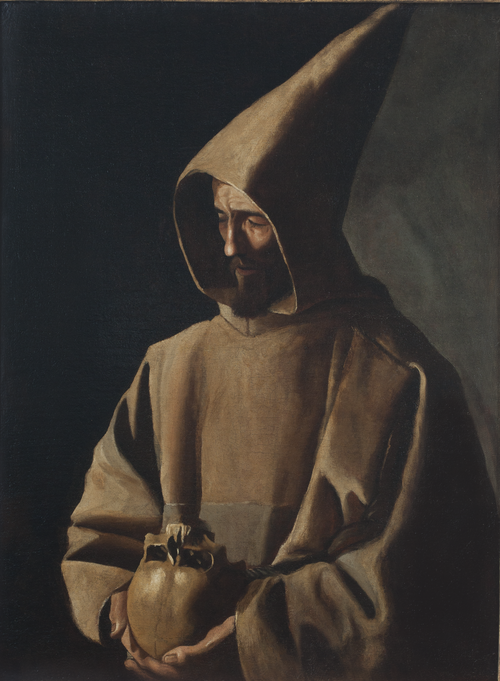 Saint Francis in Meditation at the Timken Museum of Art