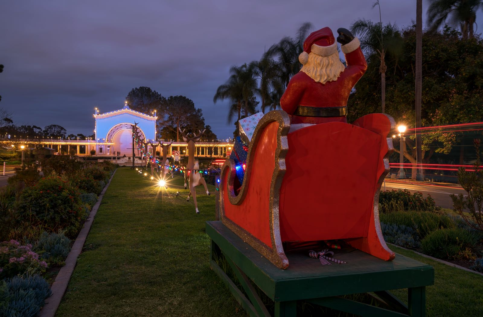 Santa in Balboa Park - Top Things to Do in San Diego