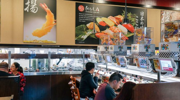 Kura Revolving Sushi Bar - Culinary Road Trips: Convoy Street to Black Mountain Road