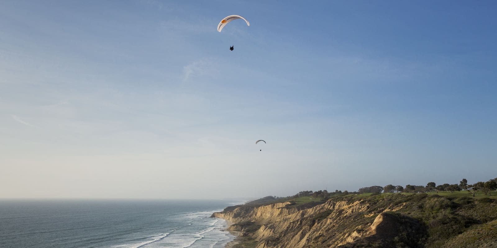 Parasailing at Torrey Pines | Thrill Seekers: Take to the Air and Sea in San Diego