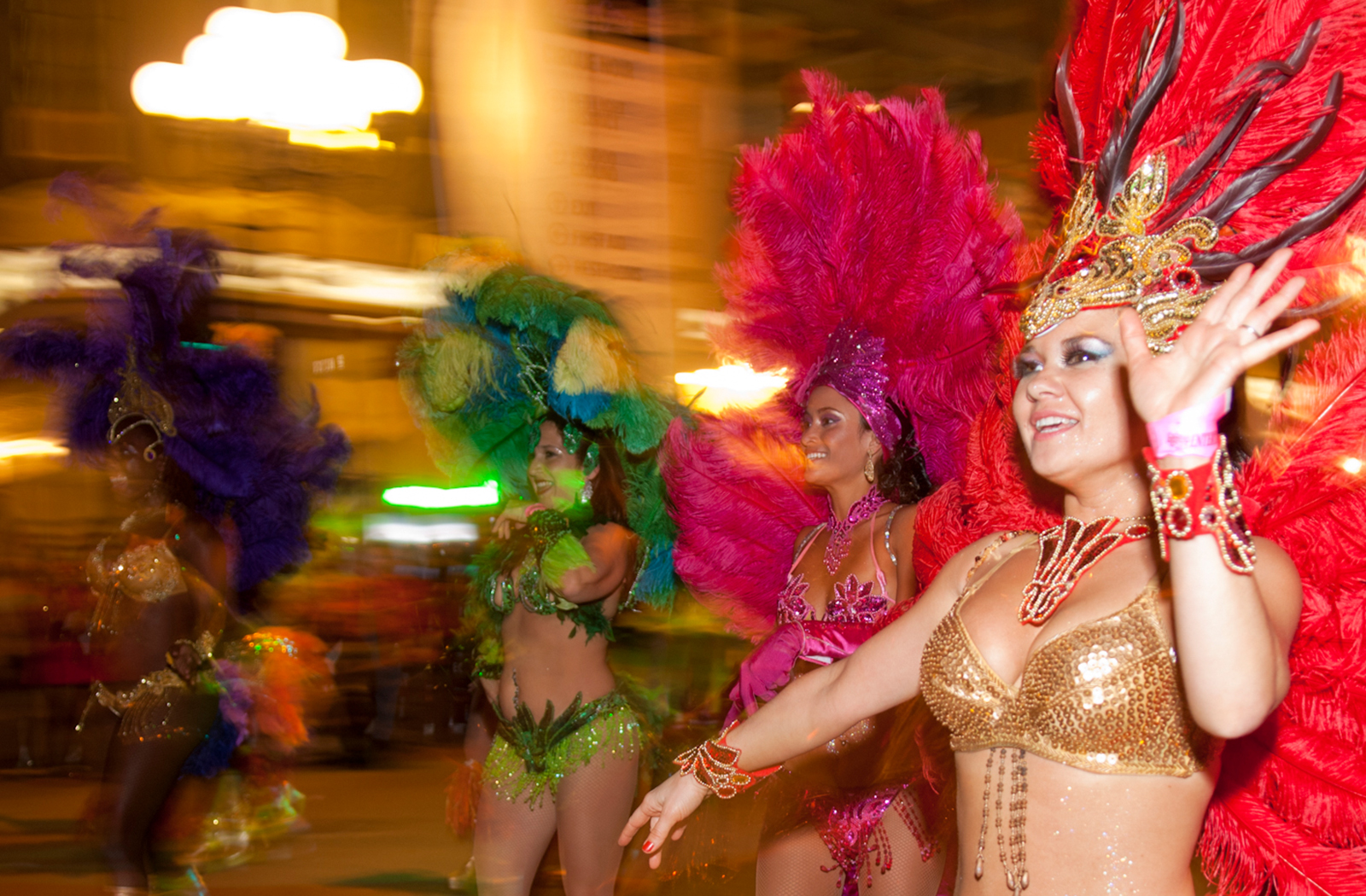 Samba Dancer | Mardi Gras | Top Things to Do in San Diego