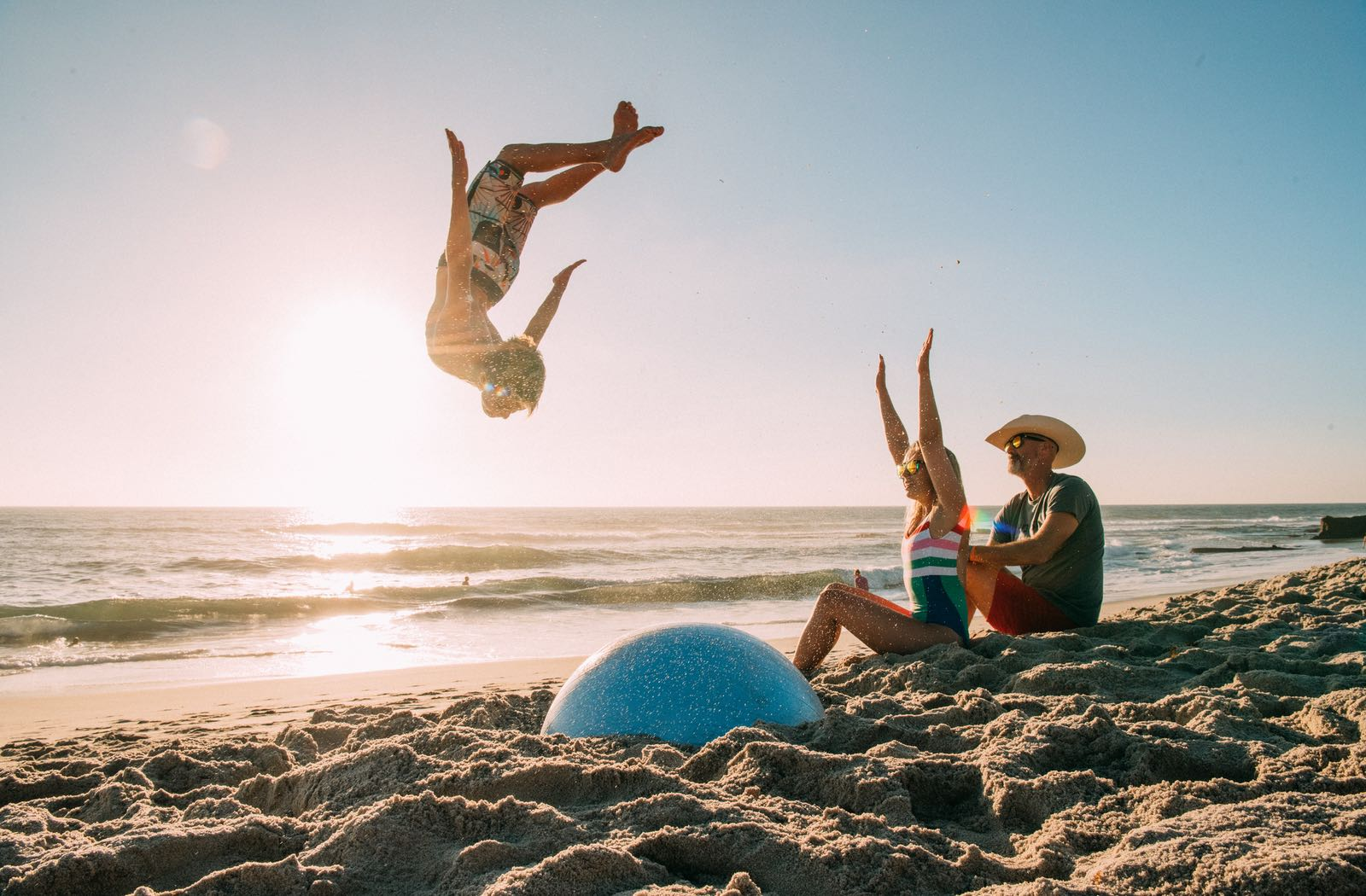 Flipping at the Beach | Top Things to Do in San Diego