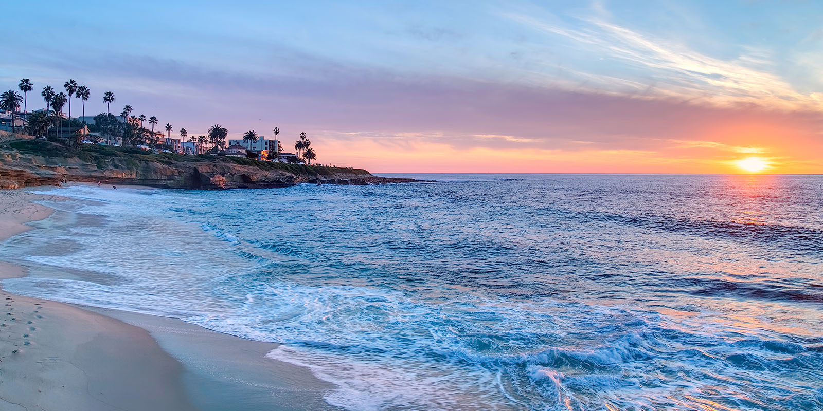 How to Support San Diego's Local Businesses | La Jolla at Sunset in San Diego