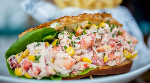 Lobster Roll in San Diego