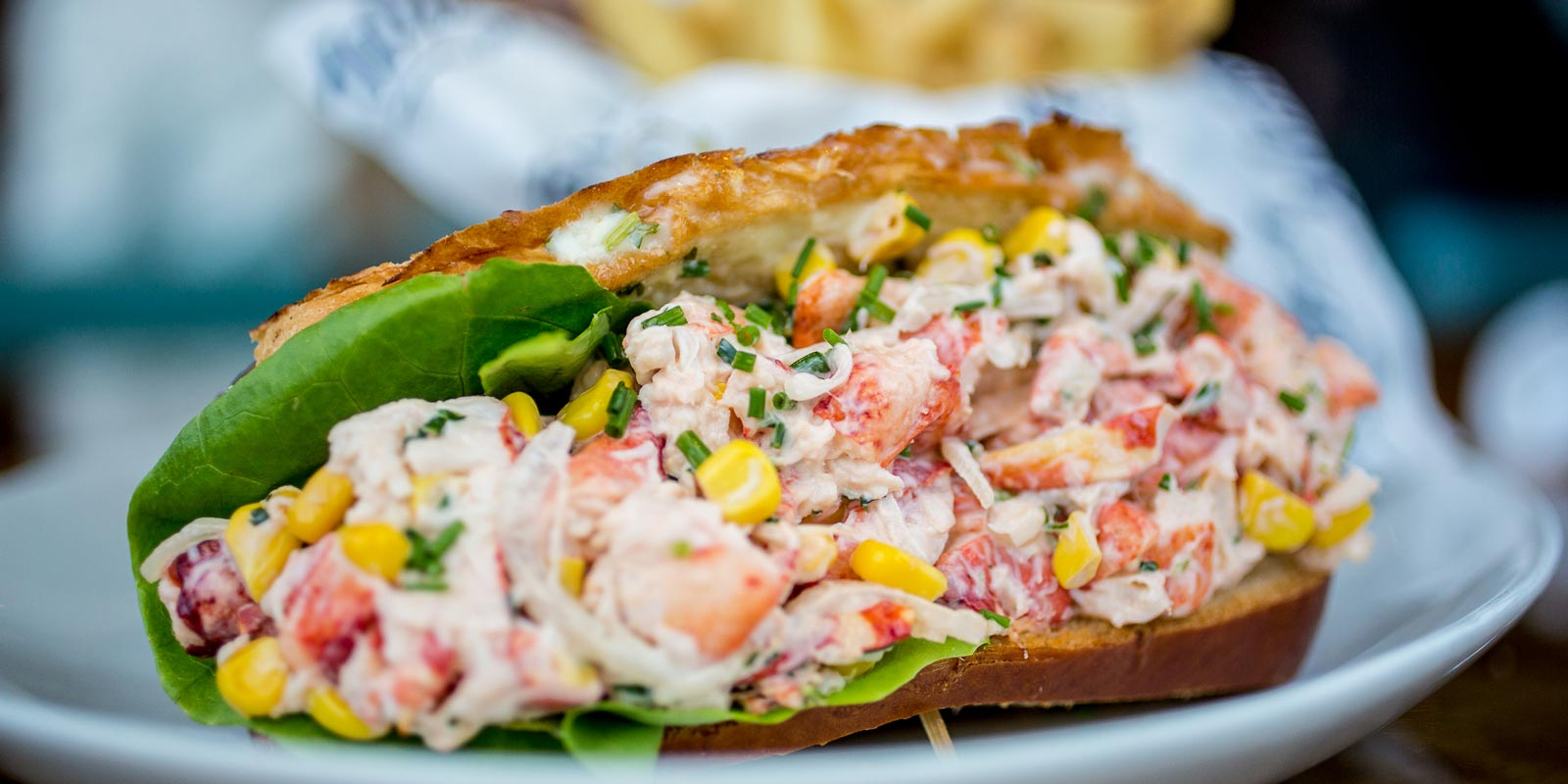 Lobster Roll in San Diego