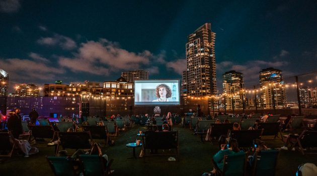 Movie at Rooftop Cinema Club