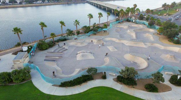 Robb Field Skate Park an Olympic sized Skate Experience in San Diego
